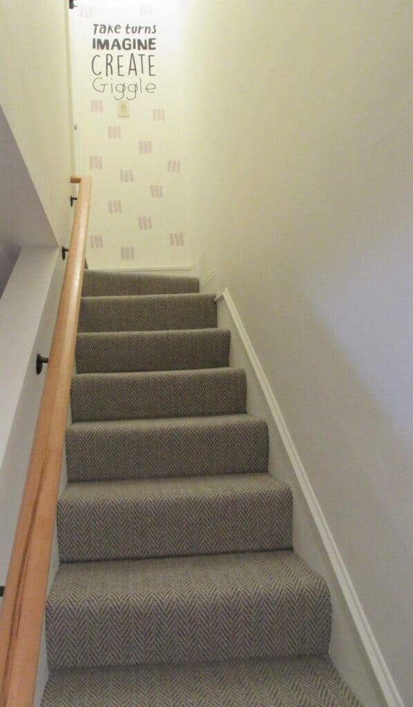 Stairway to playroom