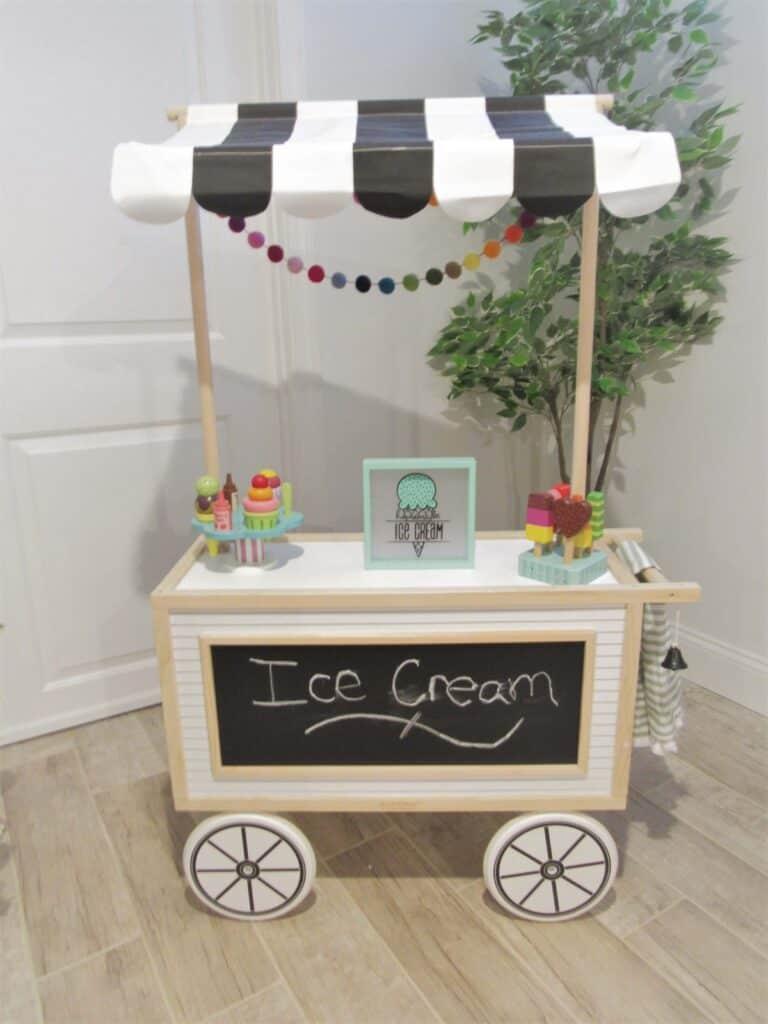 playroom ice cream stand