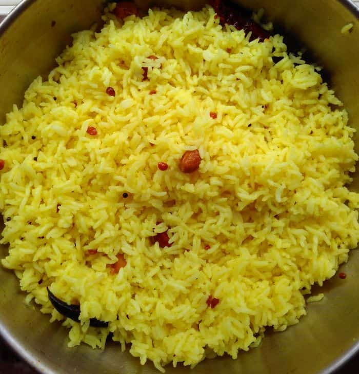 Lemon Rice Recipe – One Pot Lunch Idea!