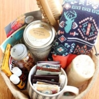 DIY Self Care Gift Basket