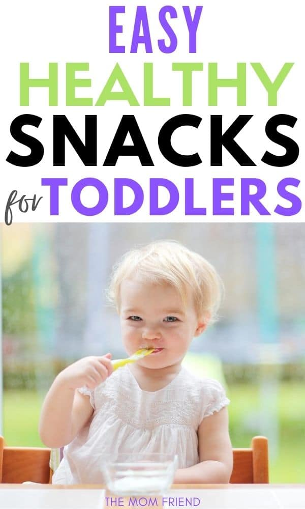 toddler girl eating a healthy snack