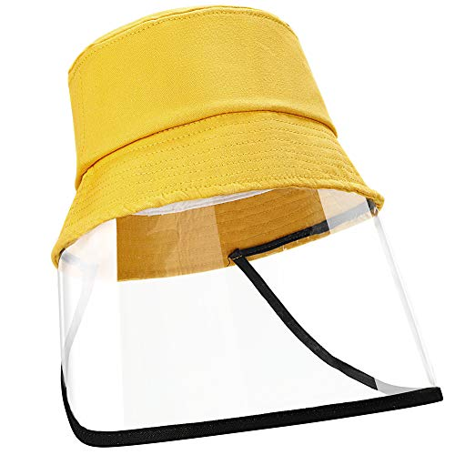 Kids Packable Sun Hats with Face Shield