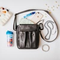 Crossbody Parent Bag by Anjie + Ash