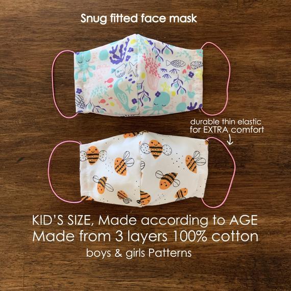 Simple Cotton Face Mask