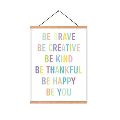 Encouraging Words Hanging Poster