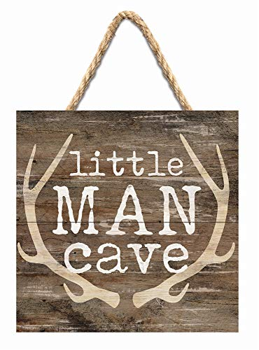 Little Man Cave Rustic Wood Pallet Wall Hanging