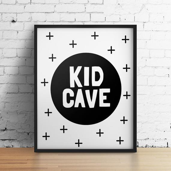 Kid Cave Printable Art