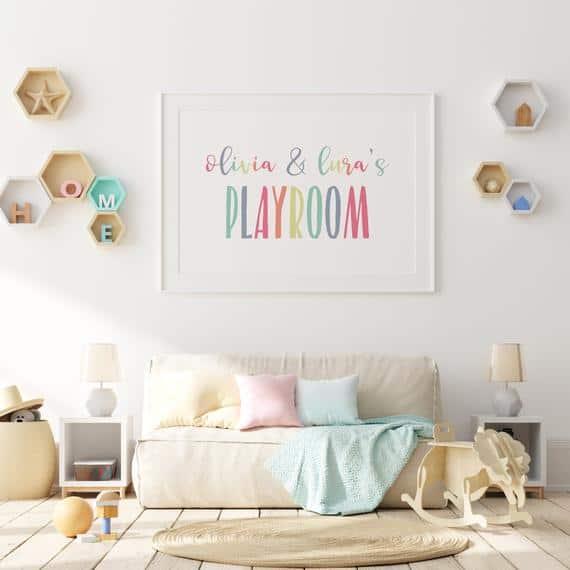 Personalized Playroom Printable