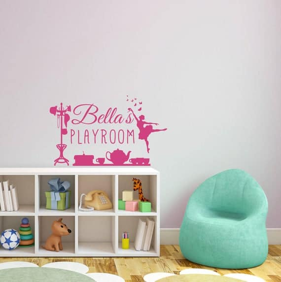 Custom Personalized Playroom Decal