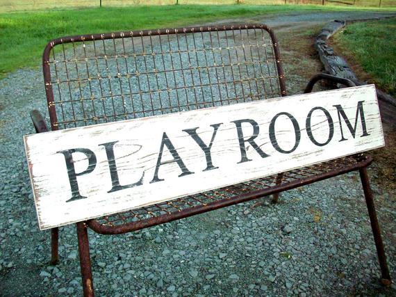 PLAYROOM Farmhouse / Rustic Decor