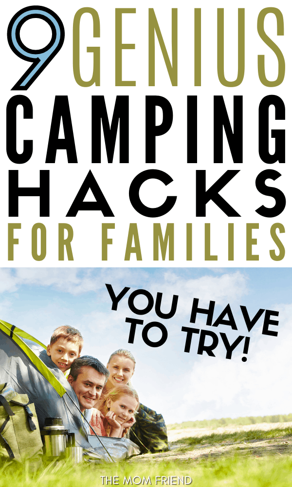 9 Camping Hacks for Families