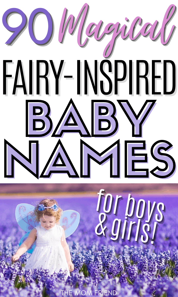 90 Fairy-Inspired Baby Names for Boys and Girls