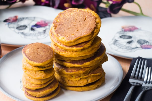 Pumpkin Baby Pancakes Recipe - Baby Led Weaning and Toddlers Food