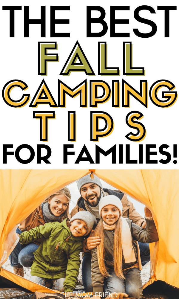 Fall Camping Tips for Families