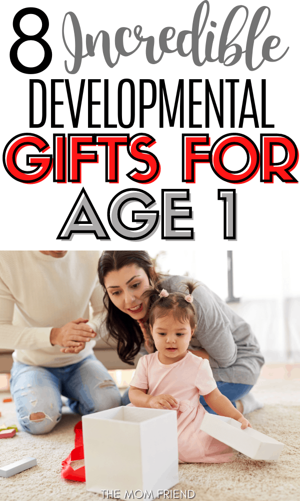 Pinnable image for best gifts for 1 year olds.