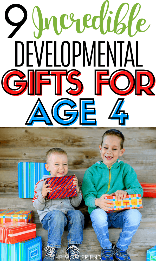 9 Gifts for 4-Year-Olds