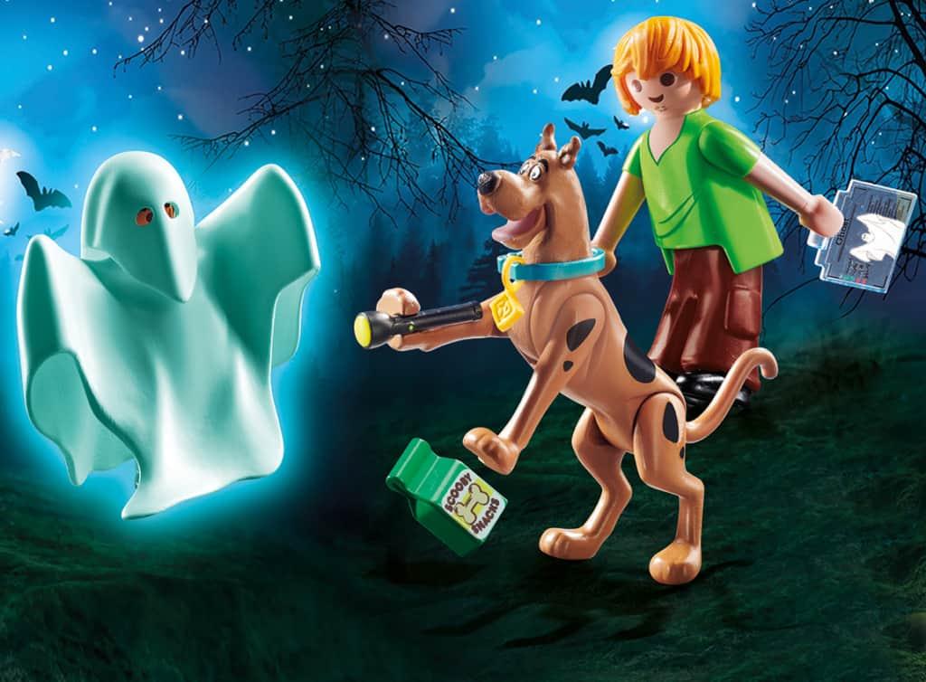 Scooby-Doo plastic toy.