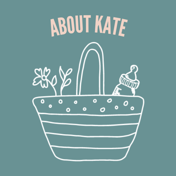 About Kate graphic.